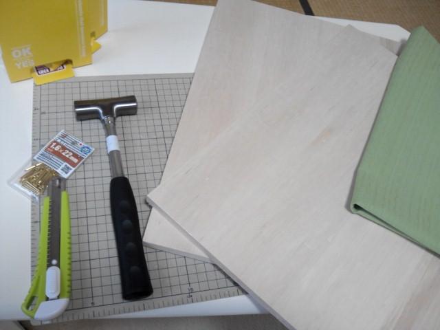 「アクセサリーボード」を、作ってみました~!_a0142642_19161688.jpg