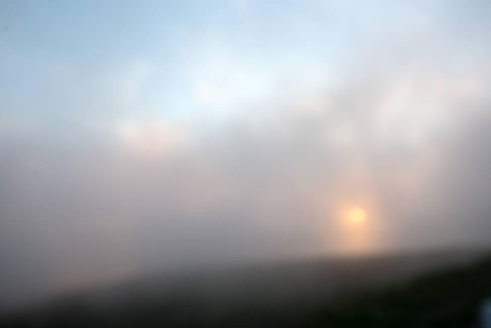 スーパームーンの日の夕陽_e0271864_21535823.jpg