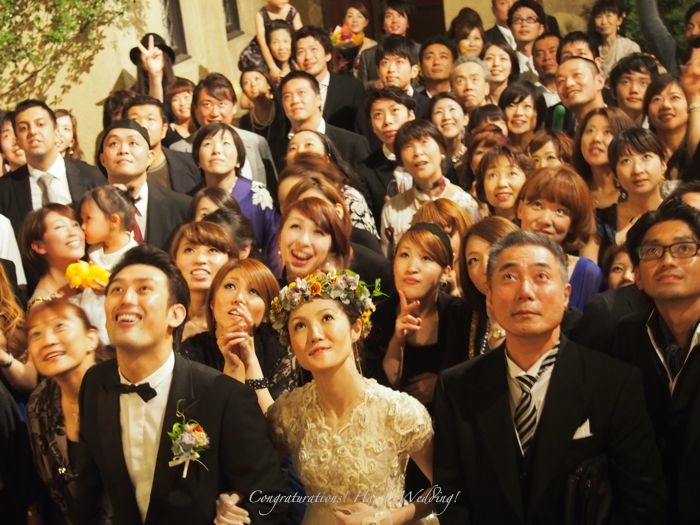 Congraturations! Happy Wedding!_d0266681_23475464.jpg