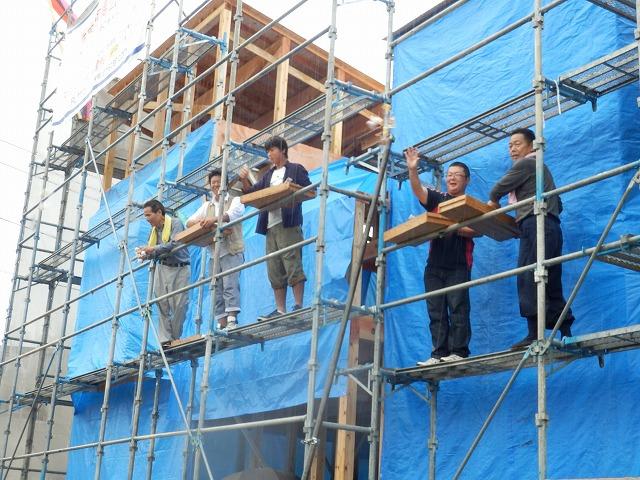 大分市森町で棟上げをしました。_e0266187_940440.jpg
