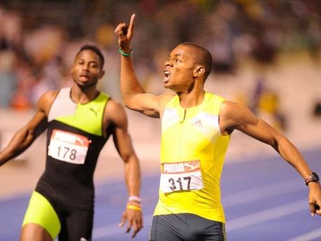 陸上ジャマイカ選手権 200m : ジ...