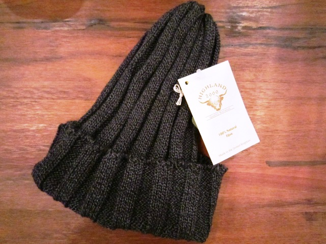 "HIGHLAND2000 ""COTTON WATCH CAP\"" ご紹介 & JackmanカスタムTee_f0191324_9382910.jpg"