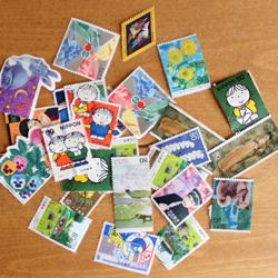 可愛い切手・・・と、昨日から寝込んでた事_a0275527_160395.jpg