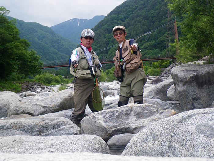 山と川と渓流魚。そしてソースかつ丼_c0120834_1252882.jpg