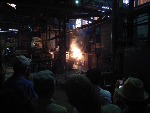 アートさんぽ[鋳物の街で工場見学]を開催しました!_c0222139_1831426.jpg
