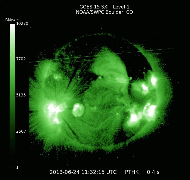 最近の太陽も面白い三角形のコロナホール登場!:いったい太陽は何なのか?_e0171614_8192822.jpg