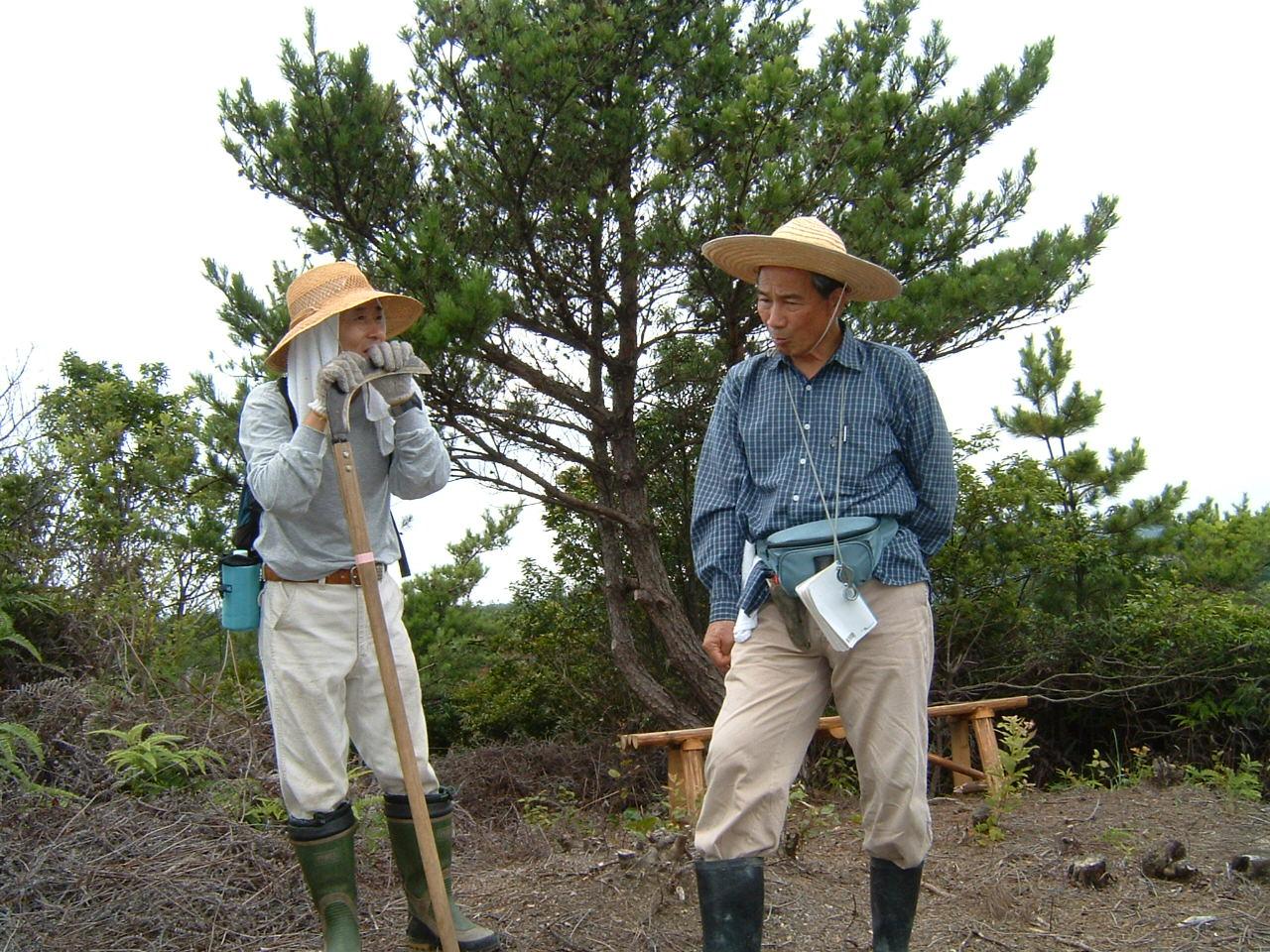 自然散策会:草刈り_c0239329_181912.jpg