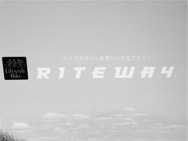 『RITEWAY』2014モデル展示会 ライトウェイ_b0212032_21301769.jpg