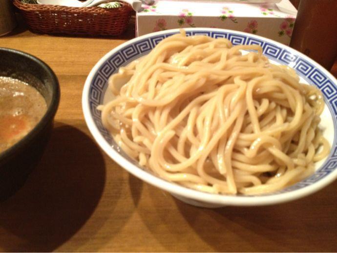 つけ麺 特盛り@狸穴_a0177651_19474961.jpg