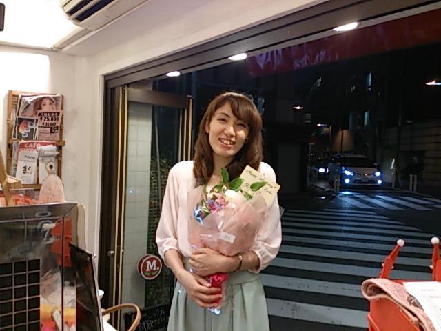 『えり子さんの誕生日、プロジェクトマッピンク』_a0075684_0464230.jpg