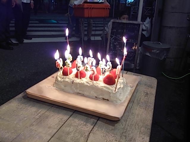 『えり子さんの誕生日、プロジェクトマッピンク』_a0075684_0464249.jpg