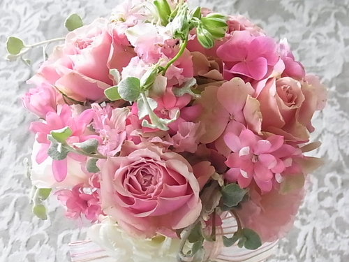 ピンクのブーケ_b0105897_8283161.jpg