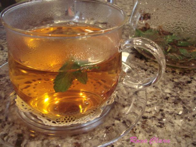朝の一杯は、スペアミント&ヌワラエリヤ_f0230127_10204612.jpg