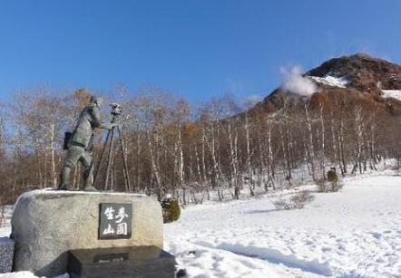 つながる雪合戦人~その2 昭和新山の持ち主、三松さん。_e0324053_199672.jpg