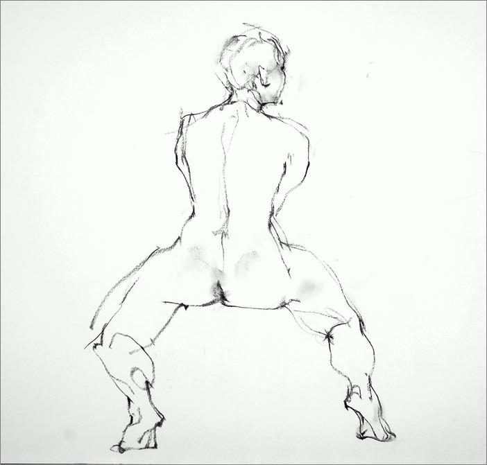 《 裸婦線描 》_f0159856_9153896.jpg