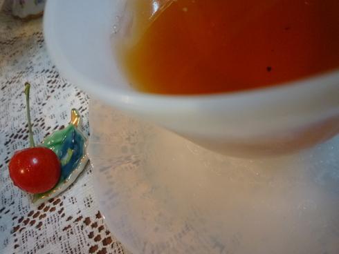 6月。。。83歳になられた おばさまから の 贈り物のパウンドケーキと 紫陽花色のteatime☆.。†_a0053662_11402290.jpg