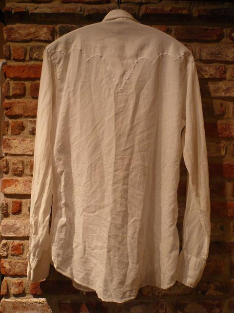 "1960s \""TEM TEX\"" vintage white western shirts ._d0172088_19483773.jpg"