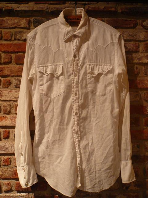 "1960s \""TEM TEX\"" vintage white western shirts ._d0172088_1948972.jpg"