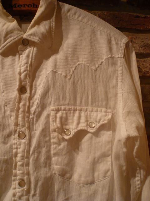 "1960s \""TEM TEX\"" vintage white western shirts ._d0172088_19524967.jpg"