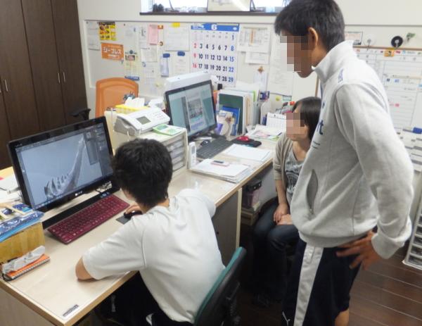 中学生職場体験_d0130291_10101589.jpg