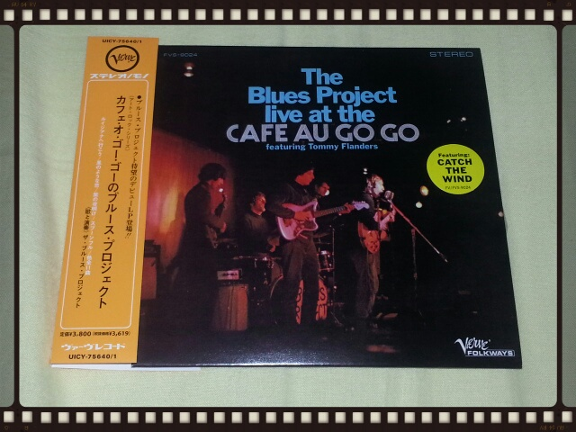 The Blues Project live at the CAFE AU GO GO (紙ジャケ)_b0042308_2333680.jpg