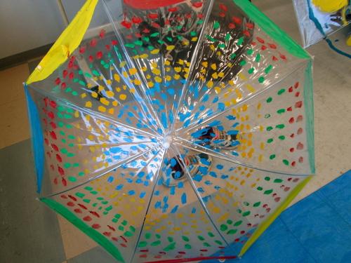 梅雨はあけたのかしら、「傘に描く」_e0167771_11223848.jpg