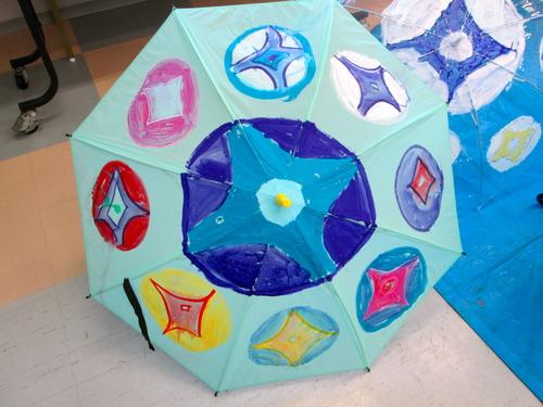 梅雨はあけたのかしら、「傘に描く」_e0167771_112721100.jpg