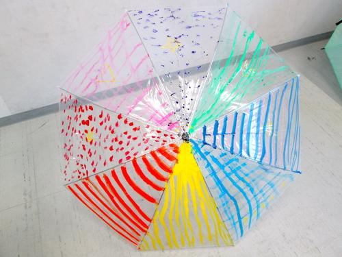 梅雨はあけたのかしら、「傘に描く」_e0167771_11301022.jpg