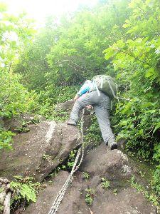 磐梯山、弾丸コースの翁島登山道_a0096989_23581066.jpg