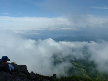 磐梯山、弾丸コースの翁島登山道_a0096989_23591098.jpg