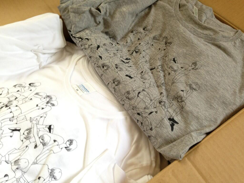"【exhibition】commune presents SUMMER ""TEE\"" BALL 2013 - 夏のTシャツ&トートバッグ展 -_c0146191_1303137.jpg"