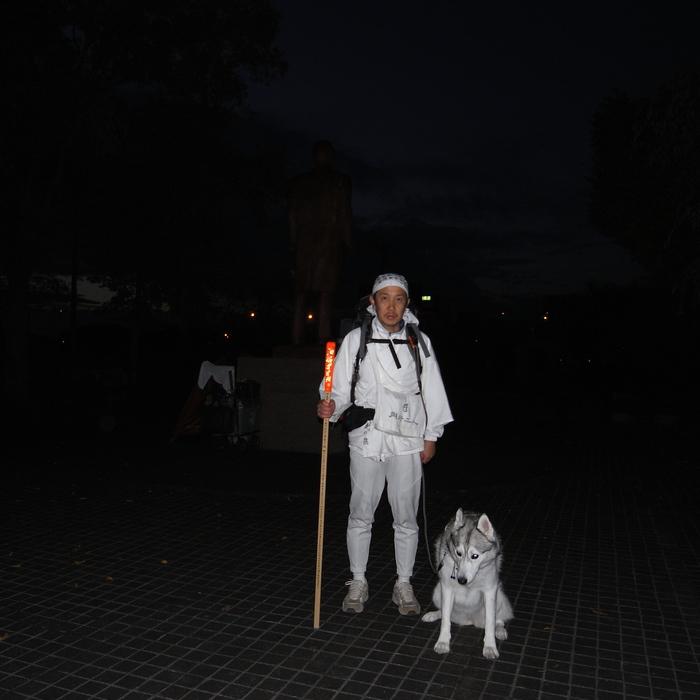 Memory of the second pilgrimage 1200km with husky HANA_c0049299_13312498.jpg