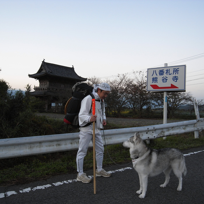 Memory of the second pilgrimage 1200km with husky HANA_c0049299_13323635.jpg