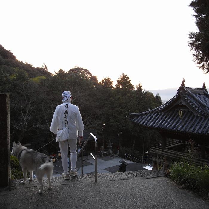 Memory of the second pilgrimage 1200km with husky HANA_c0049299_13422476.jpg