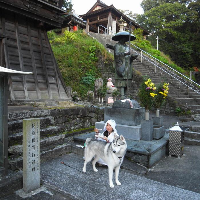 Memory of the second pilgrimage 1200km with husky HANA_c0049299_1343307.jpg