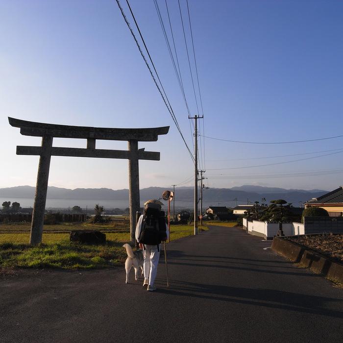 Memory of the second pilgrimage 1200km with husky HANA_c0049299_13562158.jpg