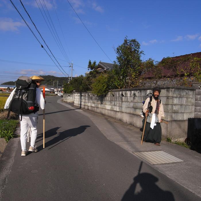 Memory of the second pilgrimage 1200km with husky HANA_c0049299_1431592.jpg