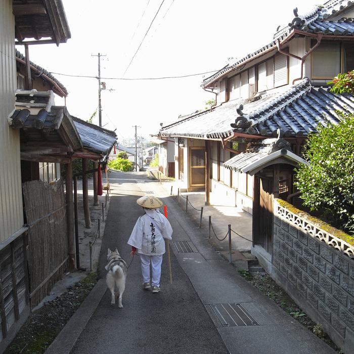 Memory of the second pilgrimage 1200km with husky HANA_c0049299_147396.jpg