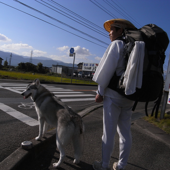 Memory of the second pilgrimage 1200km with husky HANA_c0049299_1495042.jpg