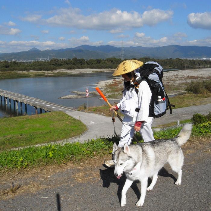 Memory of the second pilgrimage 1200km with husky HANA_c0049299_1543039.jpg