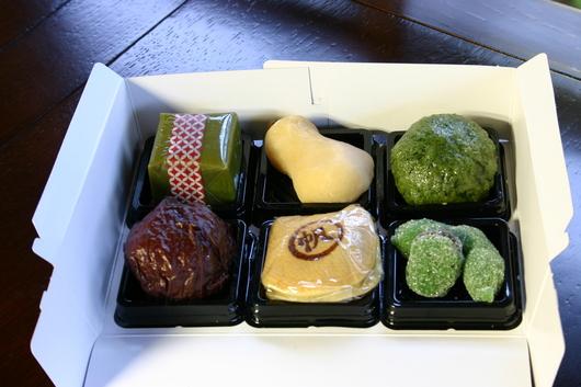 菓子処 一楽庵の和菓子_c0256701_874023.jpg
