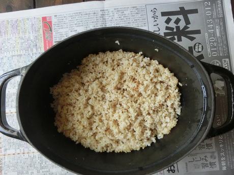 玄米のびっくり炊き_a0203003_16261212.jpg