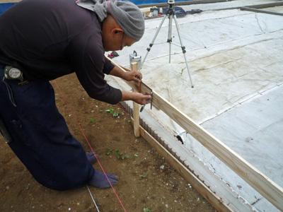 家を建てる位置を決める作業_a0148909_101391.jpg