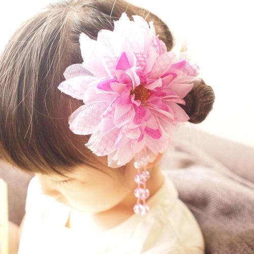 浴衣に似合う髪飾りDIY♡100均の造花が優秀◎