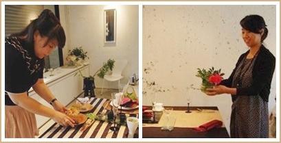 アジアンフードで異国の香り漂うコーディネート♪             ~テーブル&フードクラス_d0162543_0152917.jpg