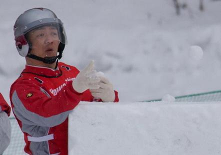 つながる雪合戦人~その4 雪合戦デカ長シバちゃん。_e0324053_23202238.jpg