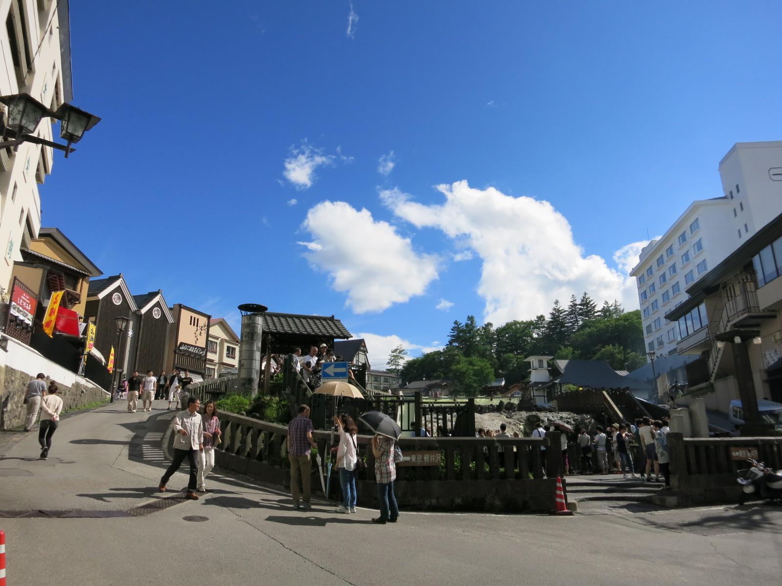 週末は、草津温泉へ♪ ②温泉街を歩く_f0236260_0502997.jpg