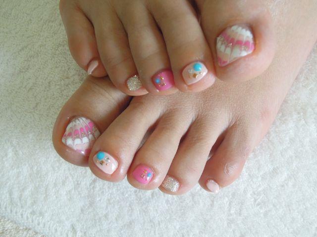 Pink Peacock Nail_a0239065_17263192.jpg