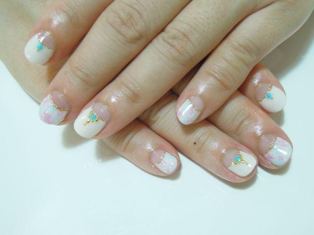 Marble Nail_a0239065_173057100.jpg
