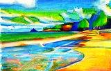 カリグラフィーと色鉛筆のワークショップ_e0045977_217053.jpg